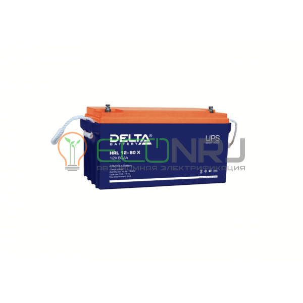 Аккумуляторная батарея Delta HRL 12-80 X