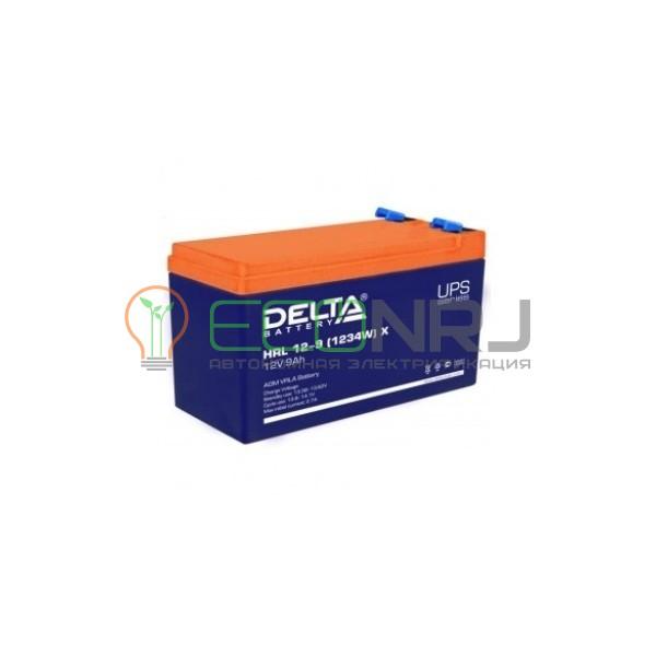Аккумуляторная батарея Delta HRL 12-9 X