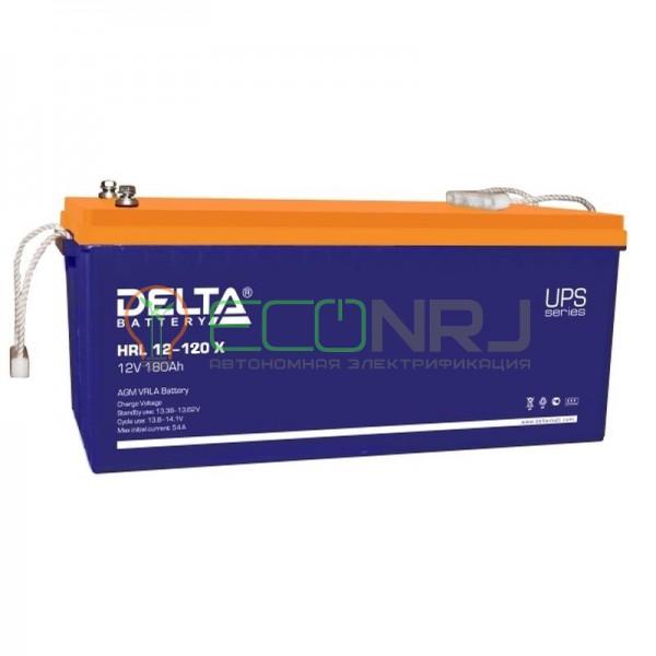 Аккумуляторная батарея Delta HRL 12-120 X
