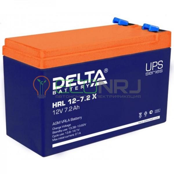 Аккумуляторная батарея Delta HRL 12-7.2 X
