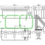 Аккумуляторная батарея Delta DT 12200