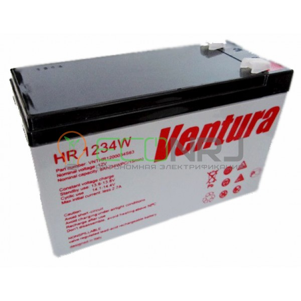 Аккумуляторная батарея Ventura HR 1234W